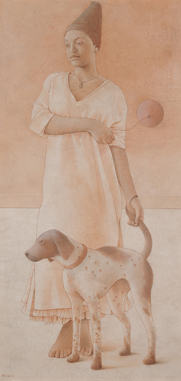 Girl Dog Jane Lewis