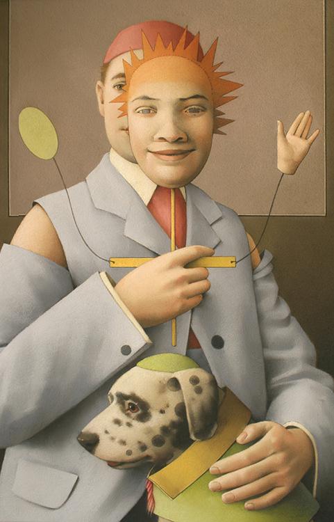 JANE LEWIS Puppet Master Automaton Dog