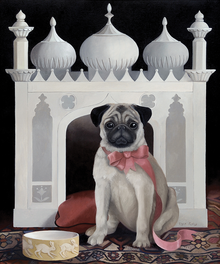 Lizzie Riches Dog and Temple