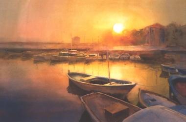 sunset large