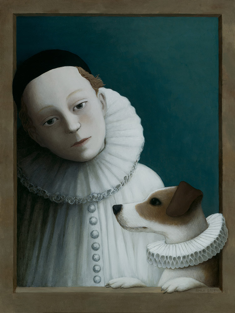 Player with Dog