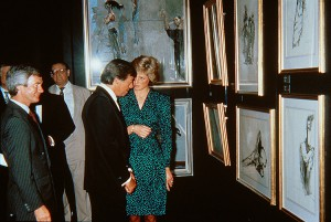 14 With Princess Diana - Royal Festival Hall