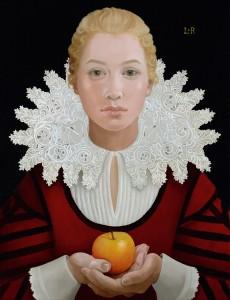 Lizzie Riches Tudor Portrait