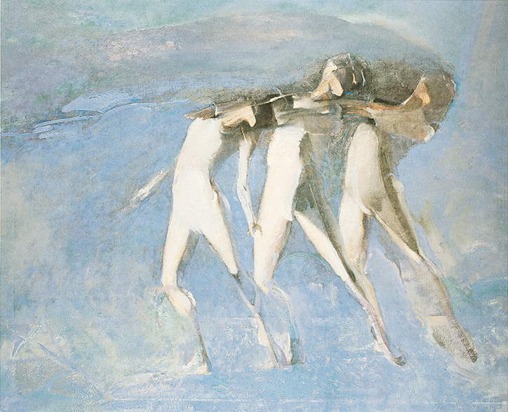 WHITE DANCERS MONOTONES