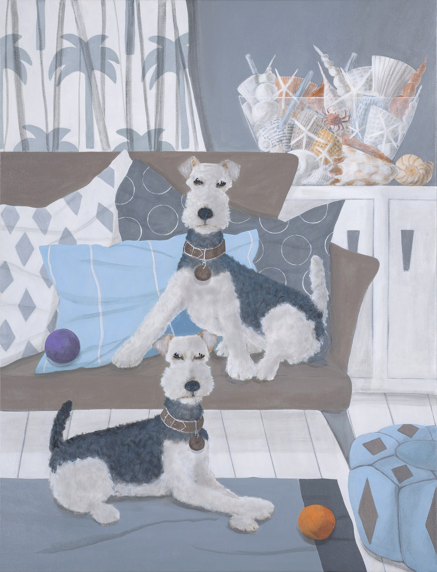 Mary Carlson Lakeland Terriers adjust