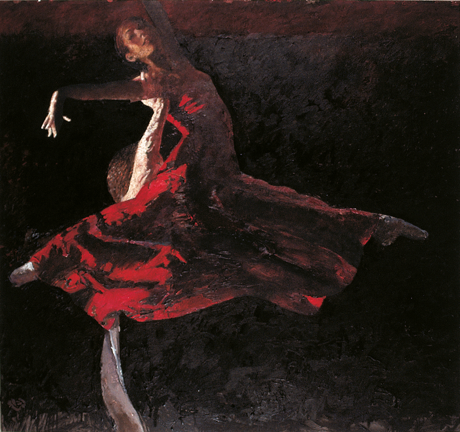Robert Heindel painting of Birmingham Royal ballet