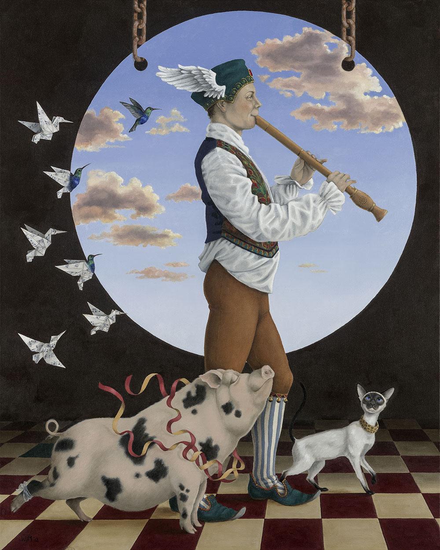 Artist, Wendy Mould