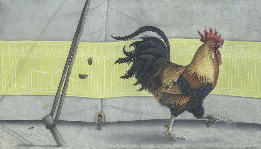 Cockerel by Kate Leiper