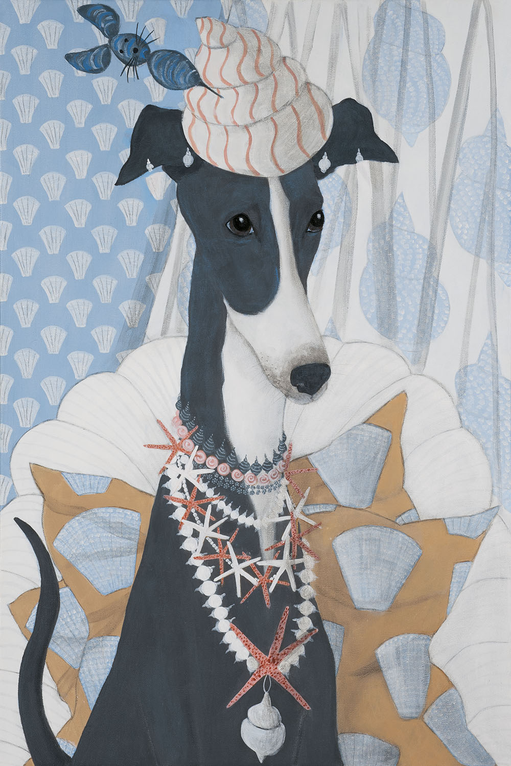 Mary Carlson Dog Painting