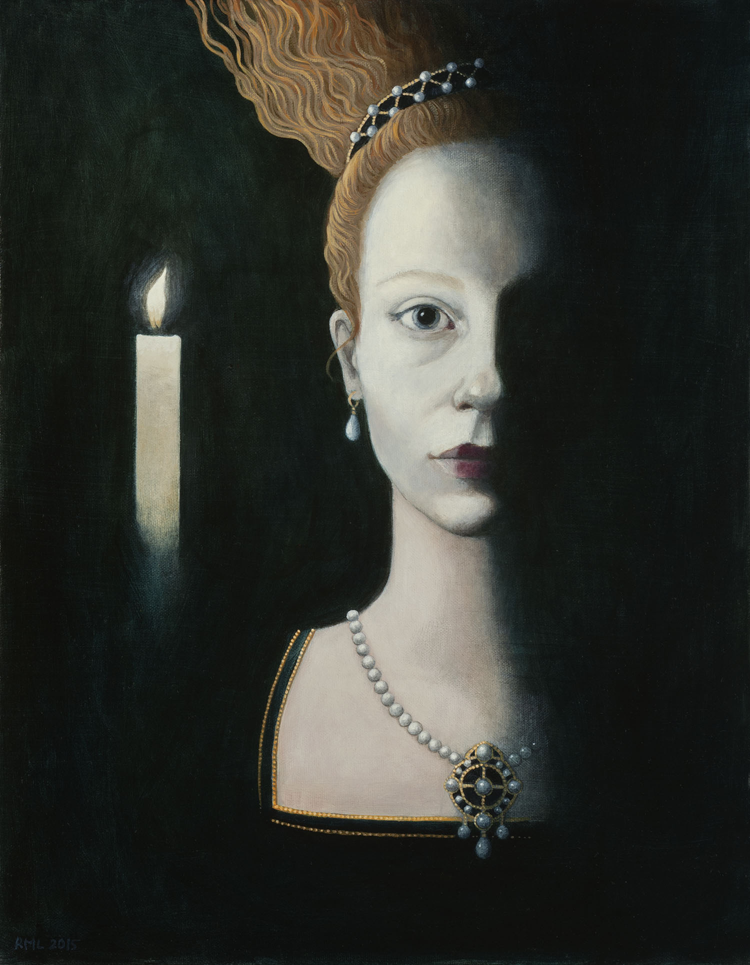 Rosalind Lyons was artist in residence at Shakespeare's Globe Theatre