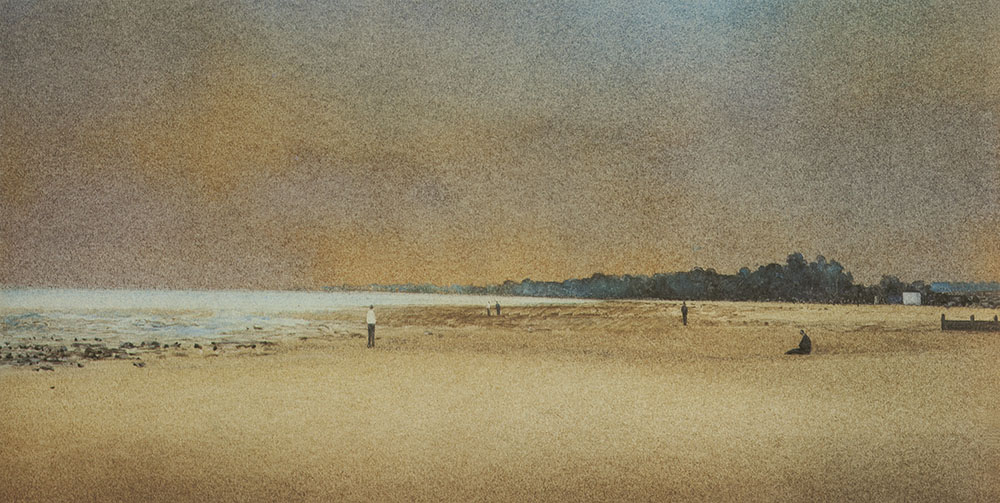 John Bond 'Figures on a Shore' II