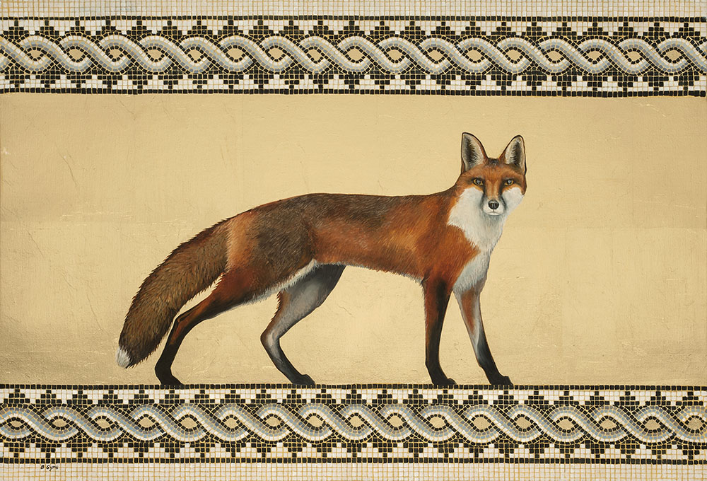 Red Fox Painting