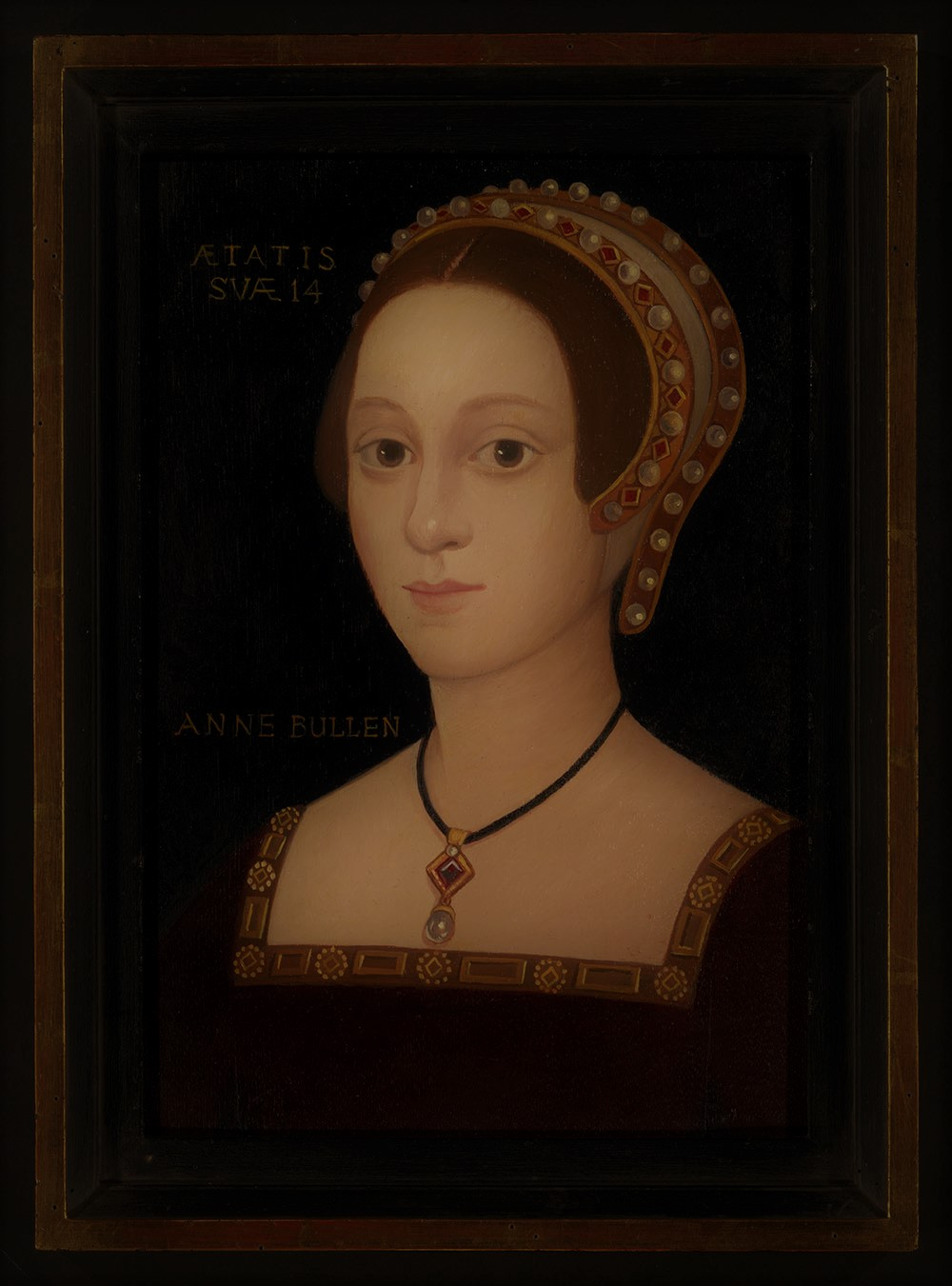Anne Boleyn an early portrait?