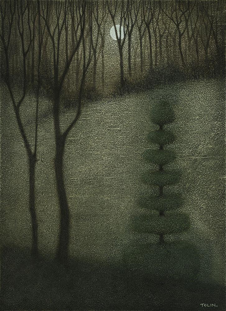 Topiary in Moonlight