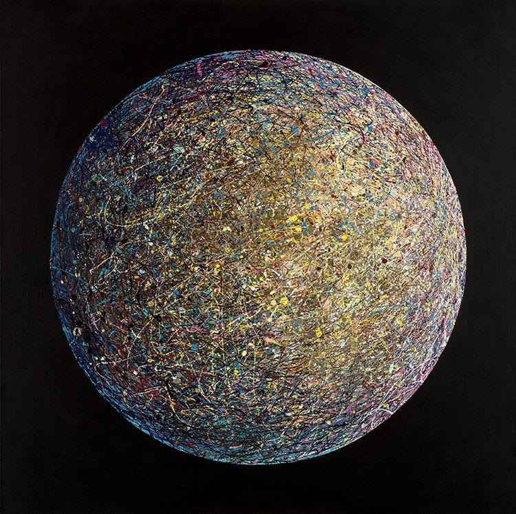Sandi Westwood Planet Painting