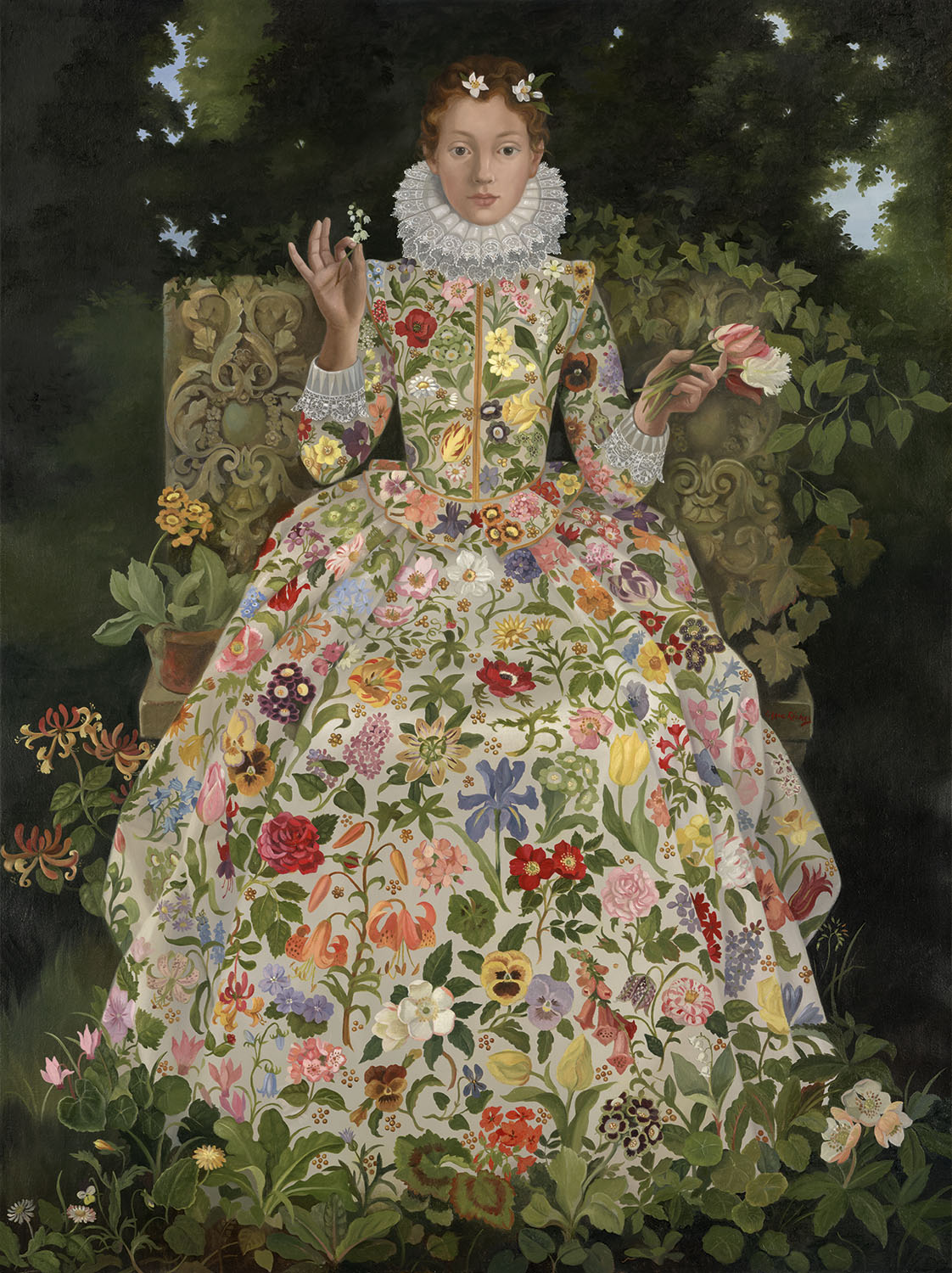 Lizzie Riches Original Painting