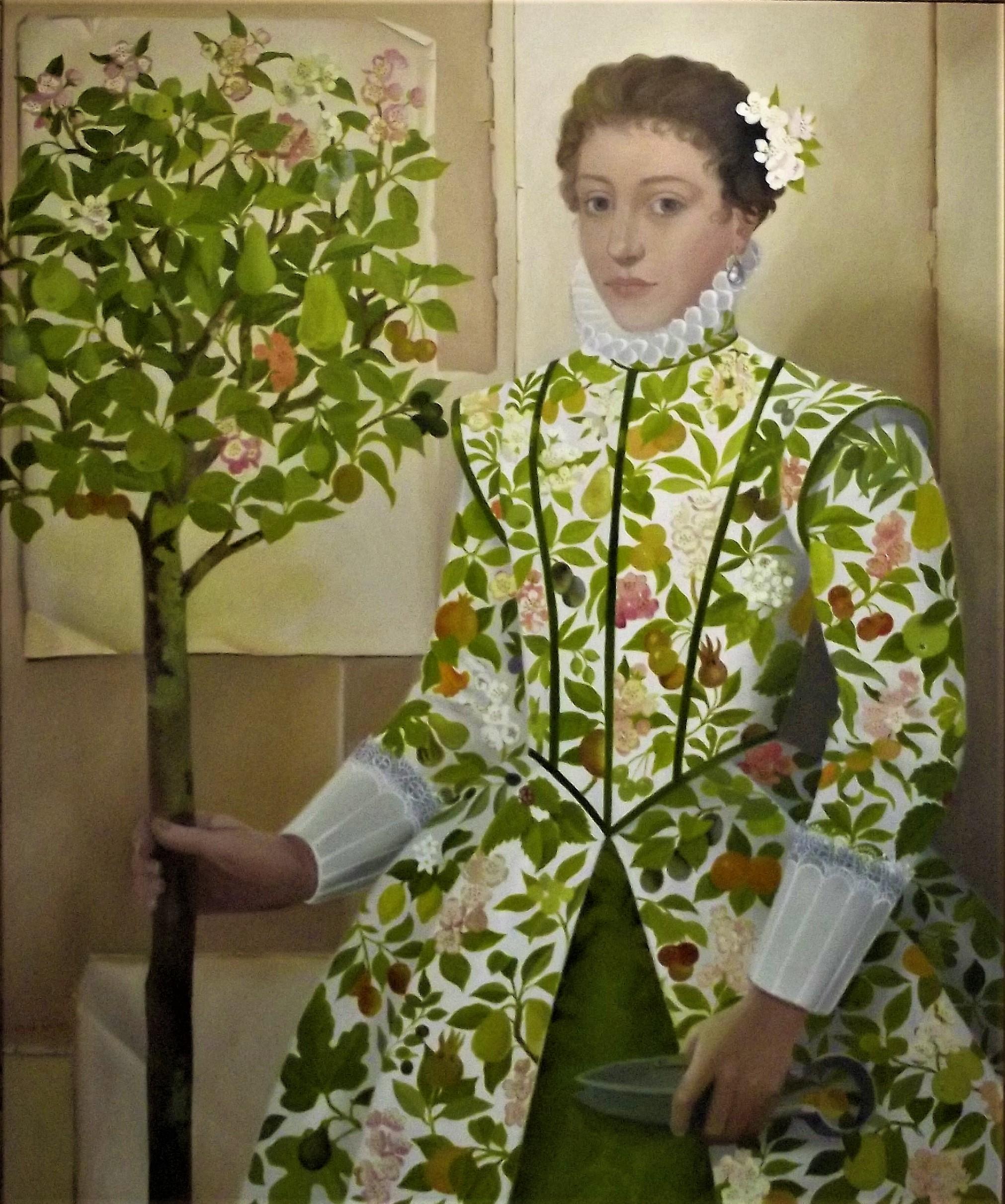Lizzie Riches - Original Oil on Canvas