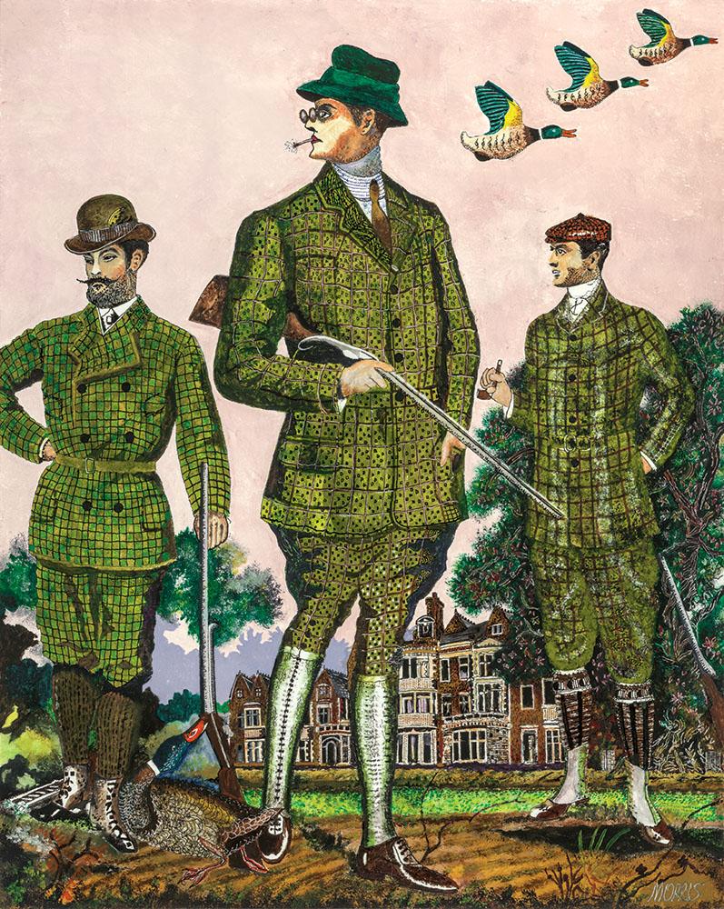 Barrie Morris original painting of Sandringham
