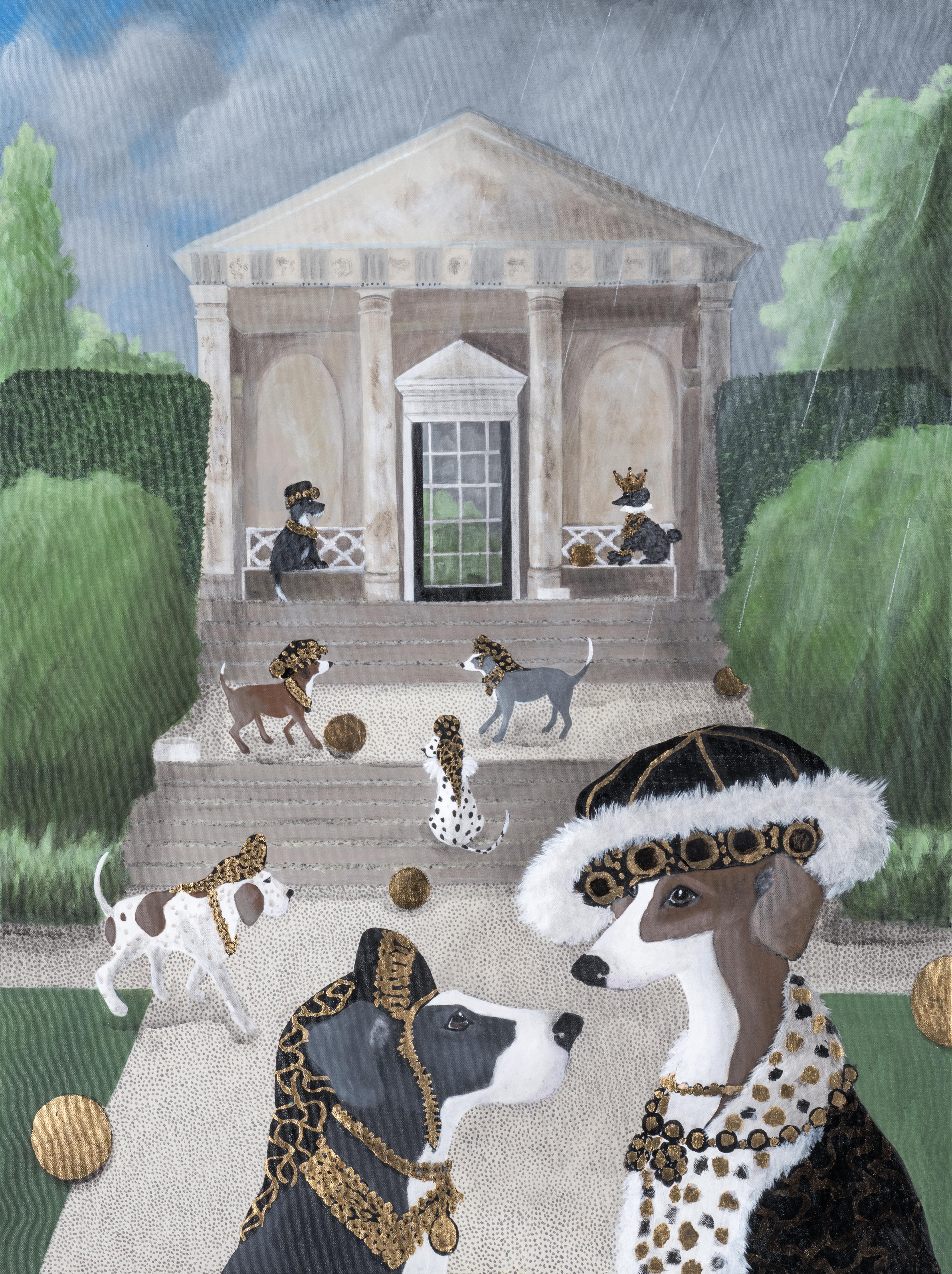 Dogs at Blickling