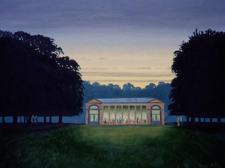 Alan Page - Original Oil on Panel