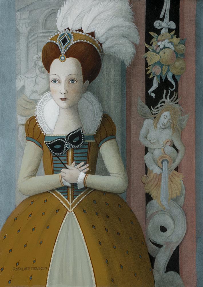 Rosalind Lyons Original oil on panel