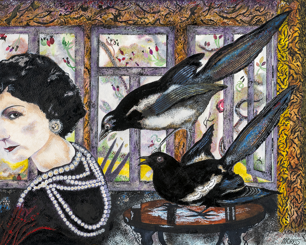 Magpies in Folklore