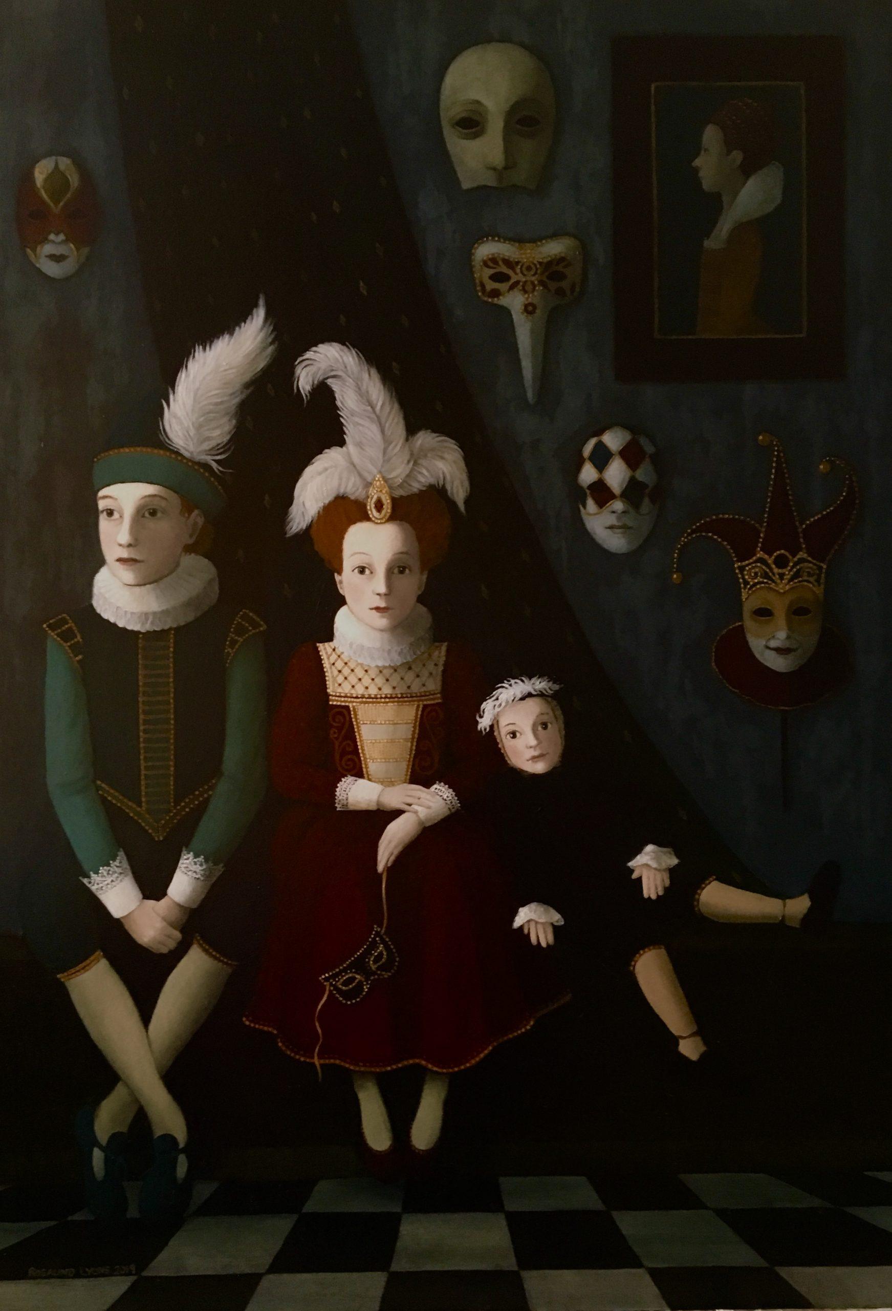 Oil on Board - Rosalind Lyons Original Painting