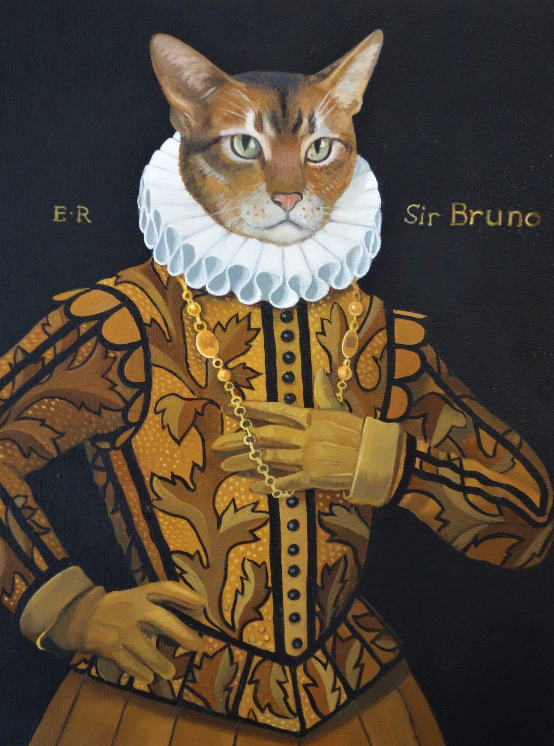 An Elizabethan Cat