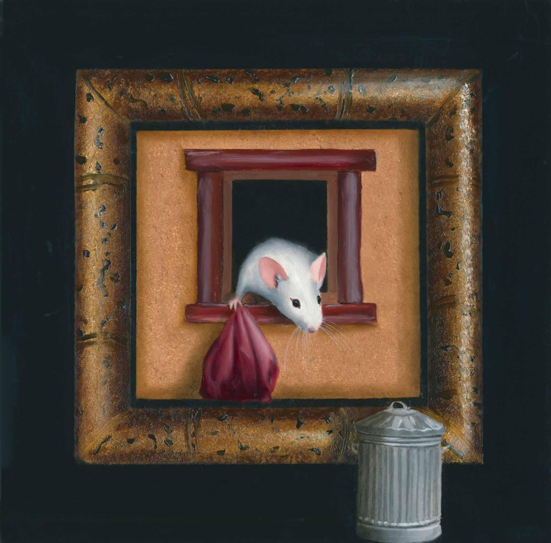 Annette Bird original oil on panel