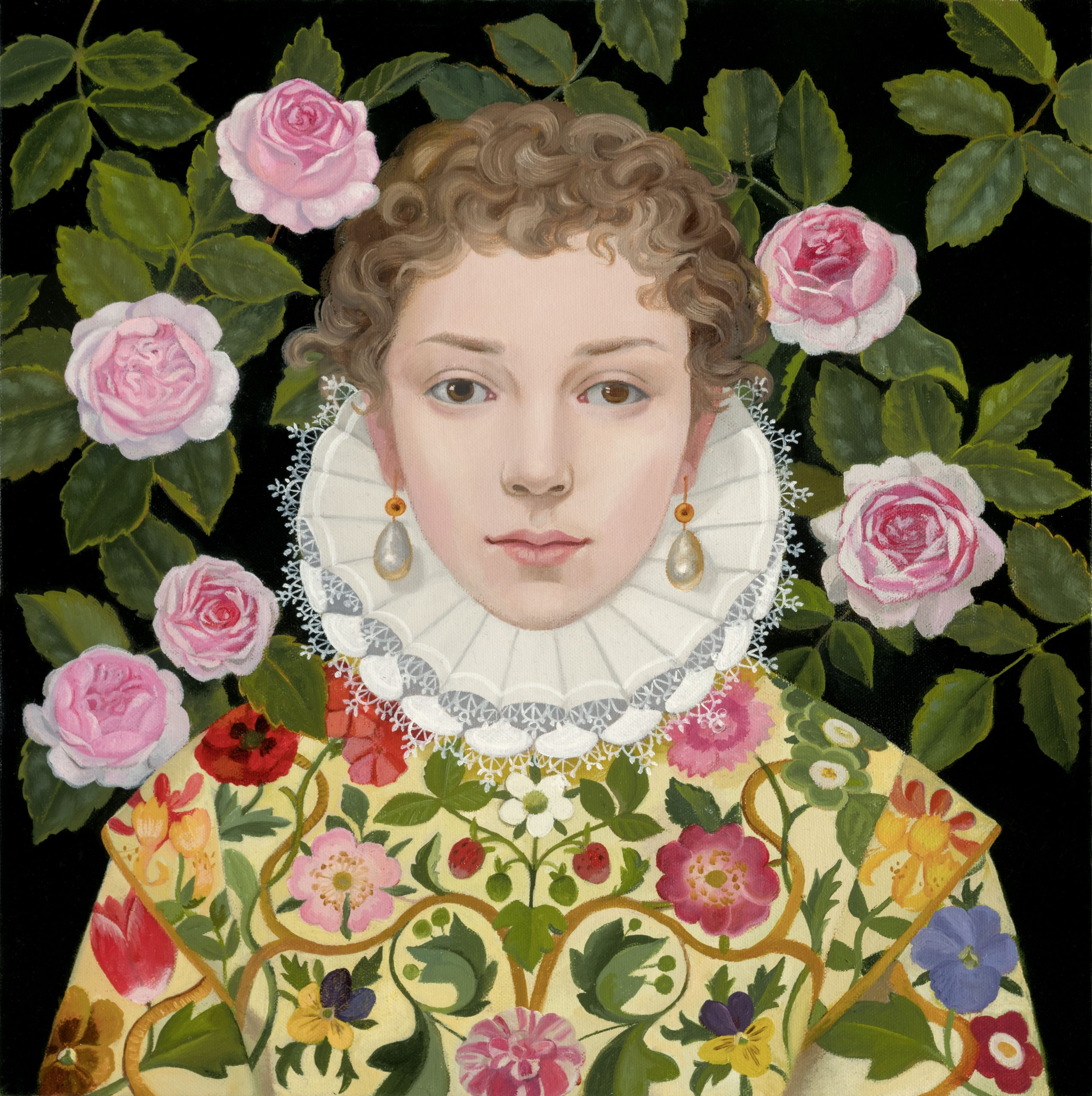 Lizzie Riches Original Paintig